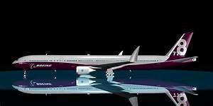 boeing 777-8x 3d model