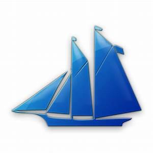 Sailboat Icon Style4 #043358 » Icons Etc