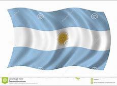 Argentina Flag Royalty Free Stock Photo Image 6695605