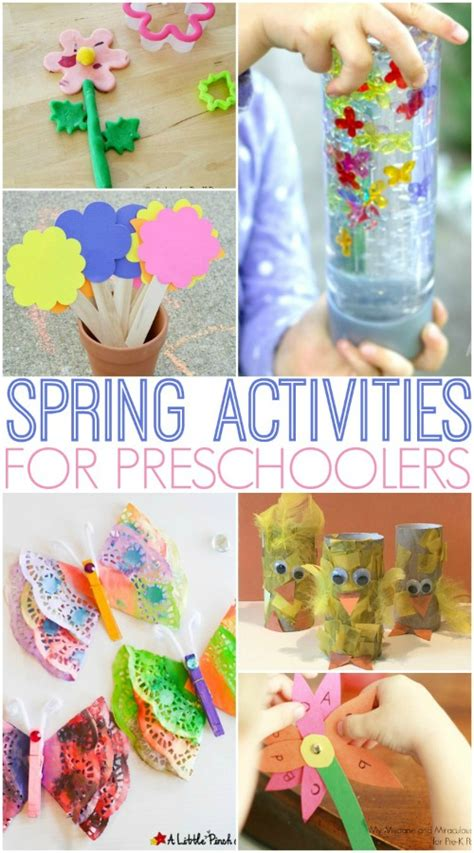 activities for preschoolers pre k pages 433 | Spring Activities for Preschool