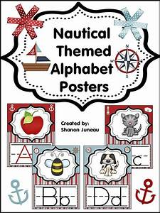 17 best images about classroom ideas on pinterest With nautical themed letter art
