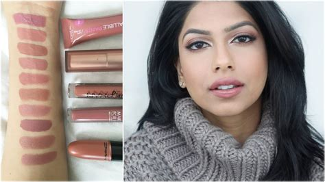 My Favorite Nude Lipsticks! Perfect For Medium/tan Skin