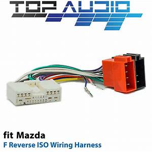 F Reverse Iso Wiring Harness For Mazda App072f Adaptor