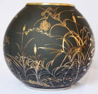 peinture sur porcelaine s 233 rie noir porcelaine decoration vase noir et recherche