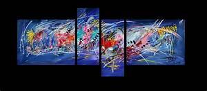 Tableau Contemporain Grand Format : artiste peintre moderne contemporain et artistes peintres ~ Teatrodelosmanantiales.com Idées de Décoration