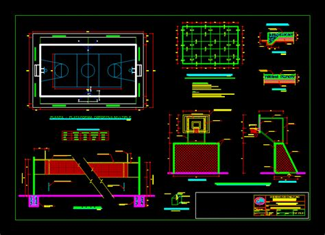 synthetic sports field dwg block  autocad designs cad