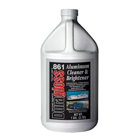 gallon duragloss hd aluminum cleaner brightner
