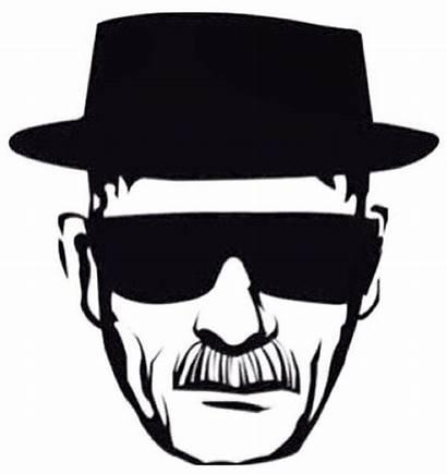 Breaking Bad Heisenberg Walter Clipart Decal Sticker
