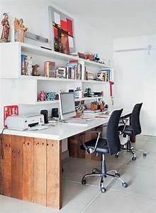 Büro Zuhause Einrichten : 1001 ideen f r schreibtisch selber bauen freshideen basteln pinterest schreibtisch ~ Frokenaadalensverden.com Haus und Dekorationen