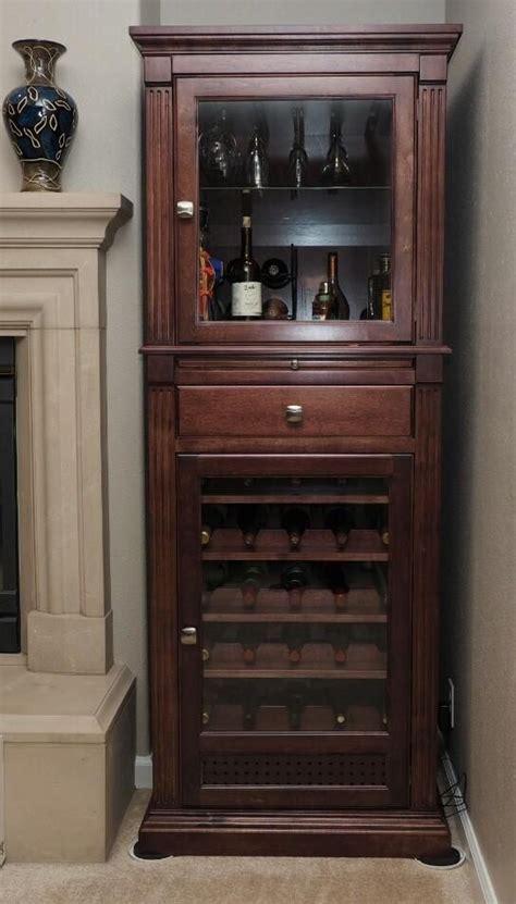 Under Cabinet Stemware Rack by Handmade Wine Cabinet Curio Display Cabinet By Ziegler