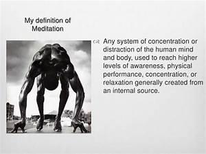 Meditation Power Point