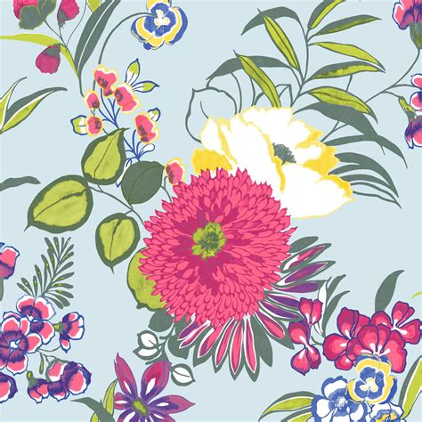 Colours Cocktail Floral Wallpaper