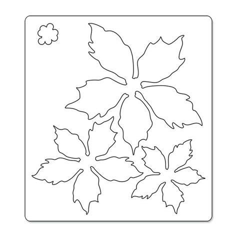 poinsettia template printable poinsettia template coloring home