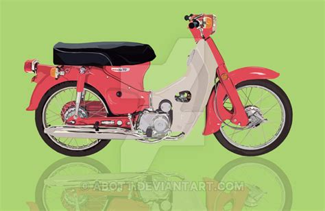 Honda C70 By Abott On Deviantart
