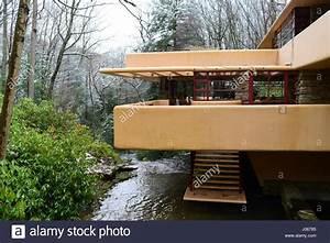 Frank Lloyd Wright Architektur : frank lloyd wright fallingwater m hle laufen pa pennsylvania laurel highlands stockfoto bild ~ Orissabook.com Haus und Dekorationen