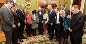 Image result for Trump and Cabinet with Pence