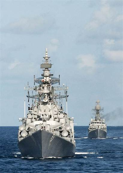 Navy Ins Indian Ranvir D54 Class Destroyer