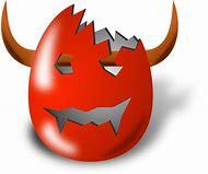 Deviled Eggs Devil Horns