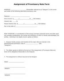 Free Promissory Note Form Template