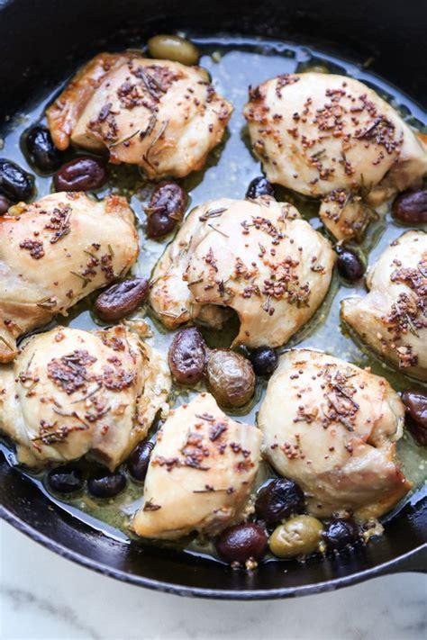 Fileto pule të pjekura me ullinj | Receta Gatimi