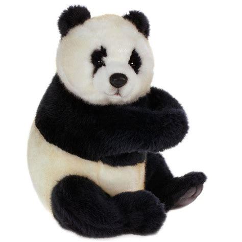 hansa  panda bear cub sitting medium