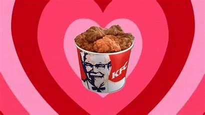 Kfc Chicken Gifs Fried Bucket Gravy Fountain
