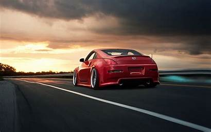 350z Nissan Wallpapers Cars 4k Road Background