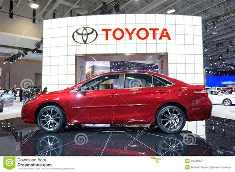 Washington Toyota by 2015 Toyota Camry Editorial Photography Image 49486277