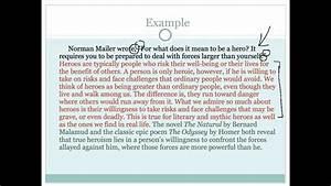 English Essay Introduction Example Ap English Sample
