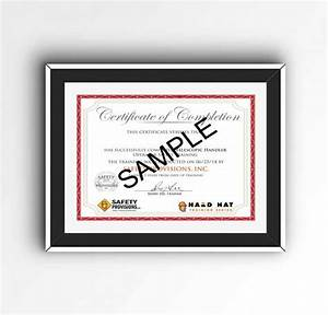 Editable Confined Space Training Certificate Template K U Top 2019 And Confined Space Training