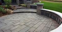 perfect patio design ideas concrete 60 Concrete Patio Ideas - Unique Backyard Retreats