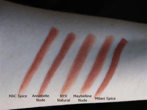 mac spice lip pencil dupes blush