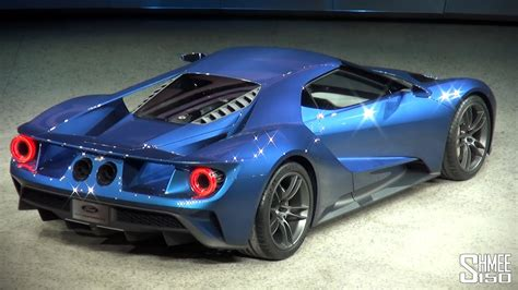 ford gt twin turbo  revealed  naias  youtube