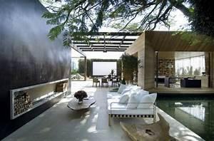 beautiful idee deco jardin contemporain pictures amazing With ordinary decoration jardin exterieur maison 12 deco salon marocain moderne