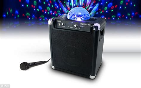 speaker with disco light justin bieber buys house speaker system morning