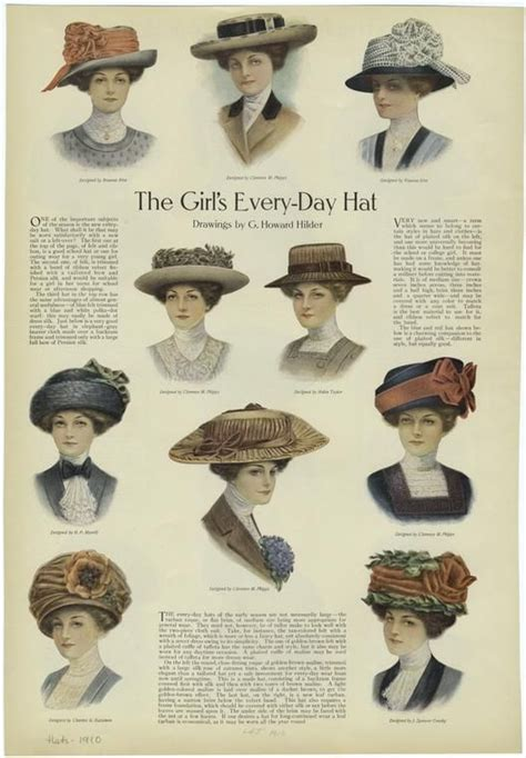 day hat  ladies home journal published
