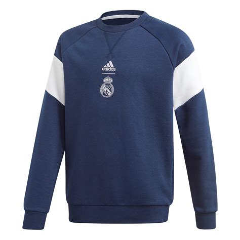 Sweat adidas Real Madrid Crest Sweat 2019-2020 Niño Night ...