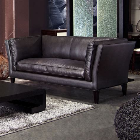 crate and barrel petrie leather sofa pin it petrie