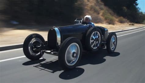 Bugatti Type 35 Replica On Jay Leno