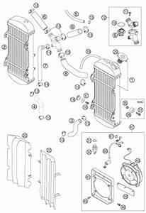 Ktm Fiche Finder Cooling System 250