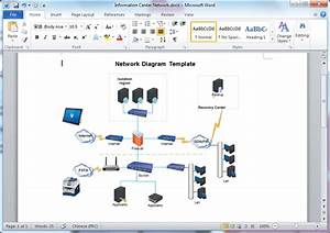 Microsoft Word Network Diagram Template