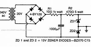 Build A Simple Dual Polarity Power Supply Circuit Diagram