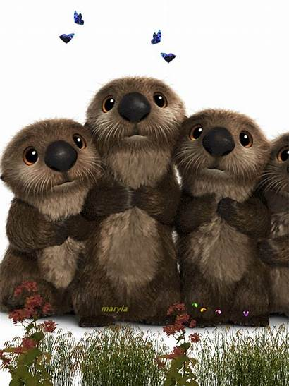 Animated Google Animal Otters Gifs Invincible Midst