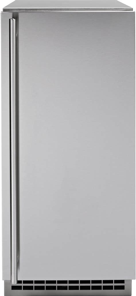 monogram zipss stainless steel ice machine door kit