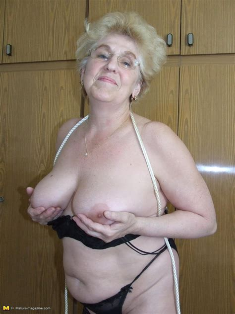 kinky granny loves to get tied up pichunter
