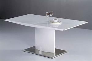 Table Blanche But : guide d achat d une table laqu e blanche jardingue ~ Teatrodelosmanantiales.com Idées de Décoration