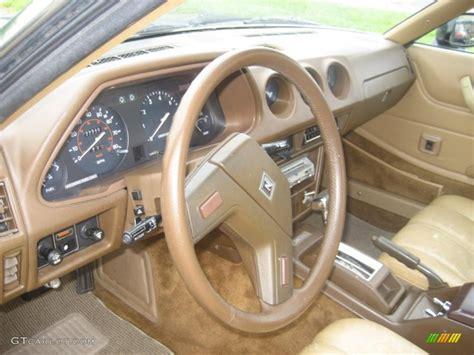 Beige Interior 1980 Datsun 280zx Fastback Photo #49357300