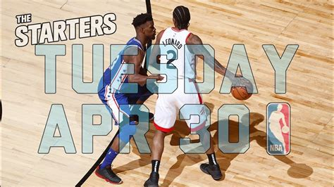 NBA Daily Show: Apr. 30 - The Starters - Fantasy Leagues