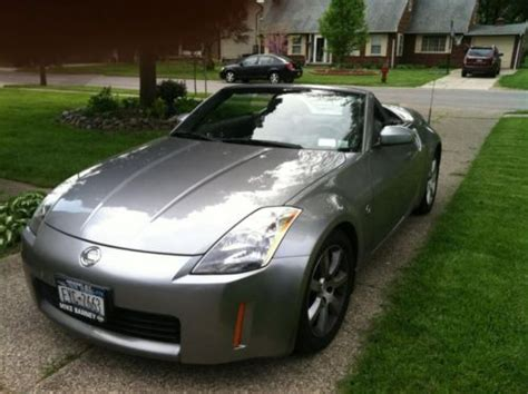 silver nissan inside sell used 2004 silver nissan 350z touring roadster
