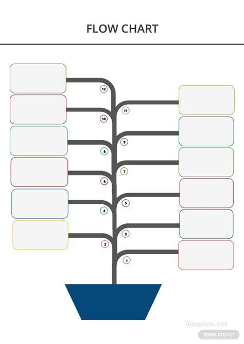 blank flow chart template  microsoft word templatenet